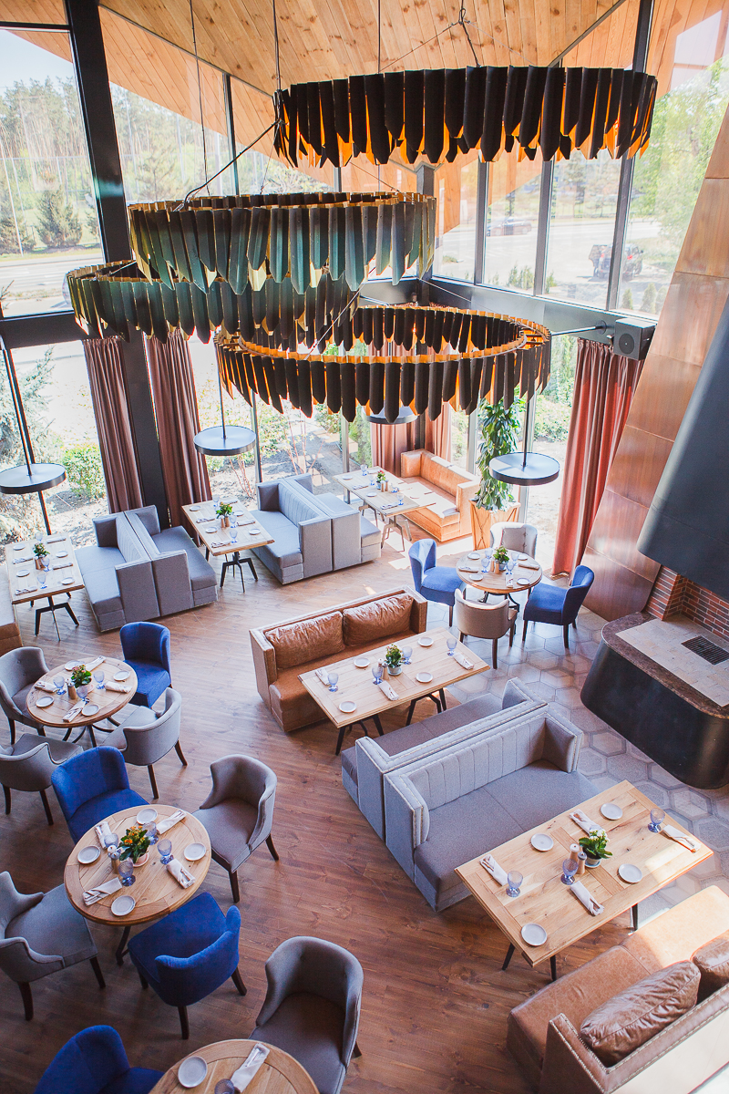фотосъемка интерьера ресторанов Киев