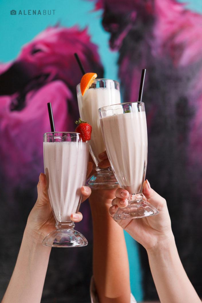 фото молочных коктейлей для Sweet Book